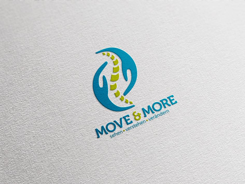 Logogestaltung MOVE & MORE